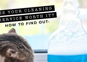 Is Your Cleaning Service Worth It? Here's How To Find Out.
