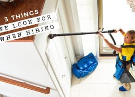 What We Look For When Hiring