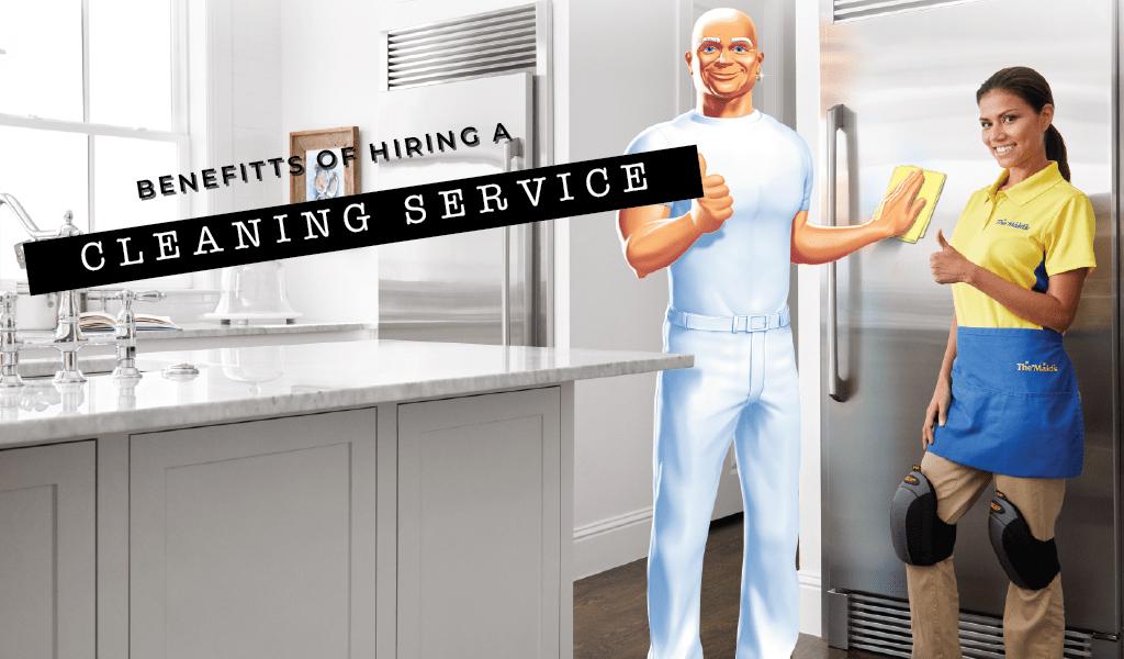 Six Benefits of Hiring a Cleaning Service