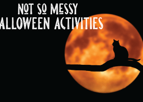 Keep The Messes at a Minimum with These Halloween Activities