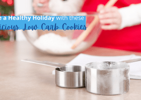 Have a Healthy Holiday with these Delicious, Low Carb Cookies