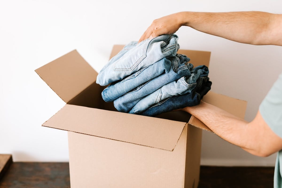 How to Pack Clothes & Shoes for Moving