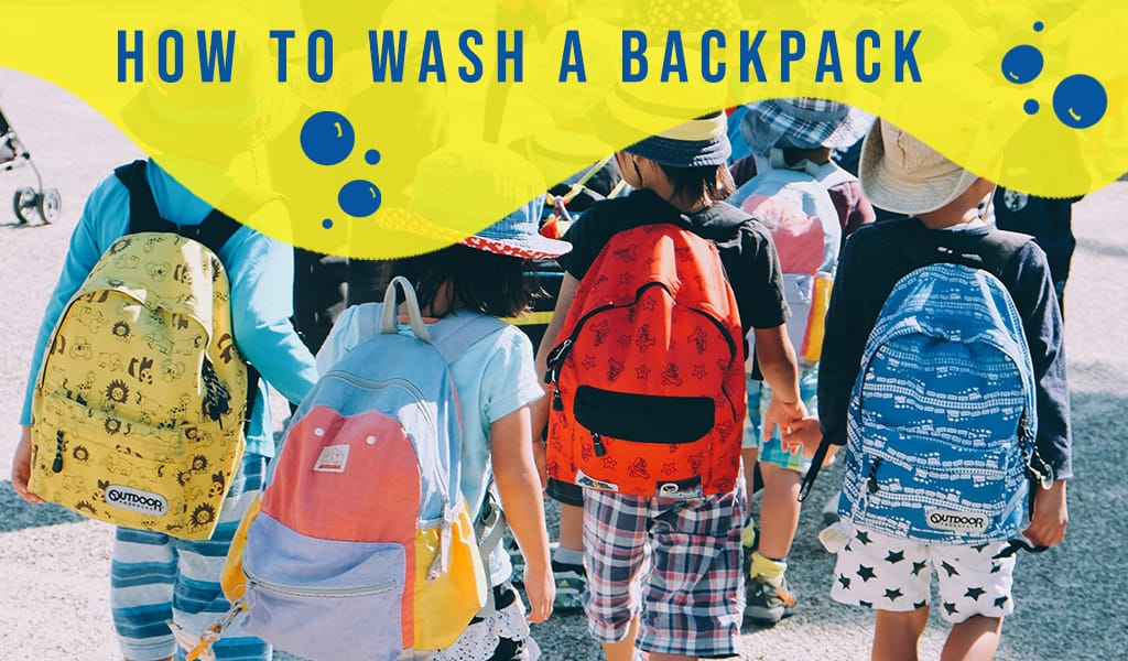 How to Wash a Backpack (It's Easier Than You Think)
