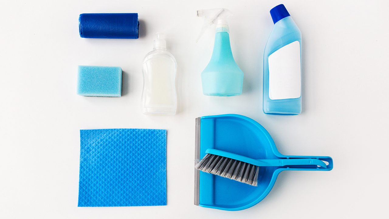 House Cleaning Supplies Products Used