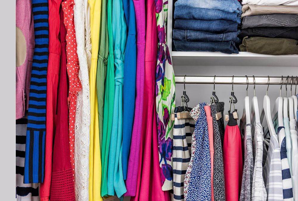 Organization: Shed 20 Pounds in a Weekend from Your Closet