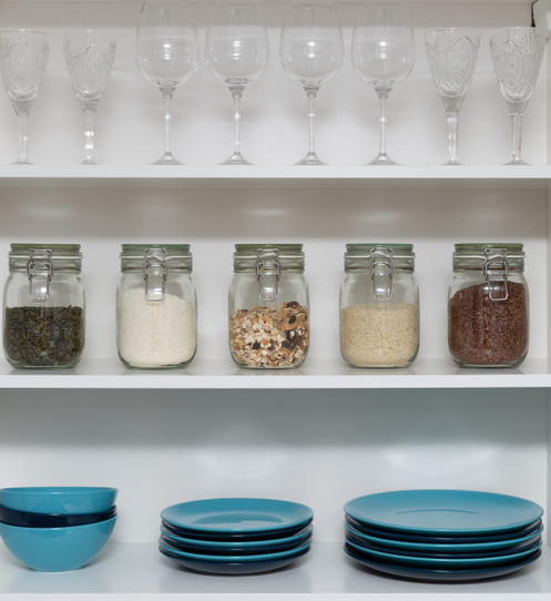 Featured Image for How to Organize Your Kitchen Cabinets