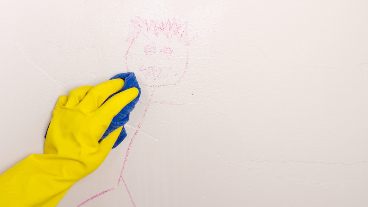 10 Tips On How To Clean Walls The, How To Clean Painted Bathroom Walls