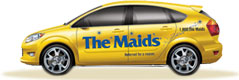 The Maids' Yellow Car