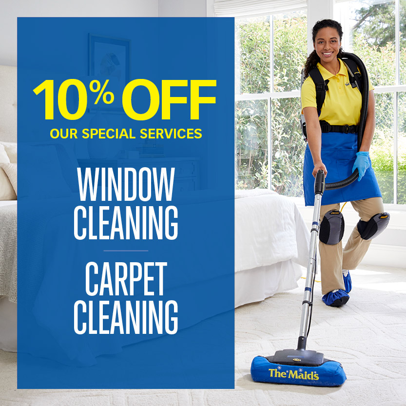 10% Off Special Cleaning Services